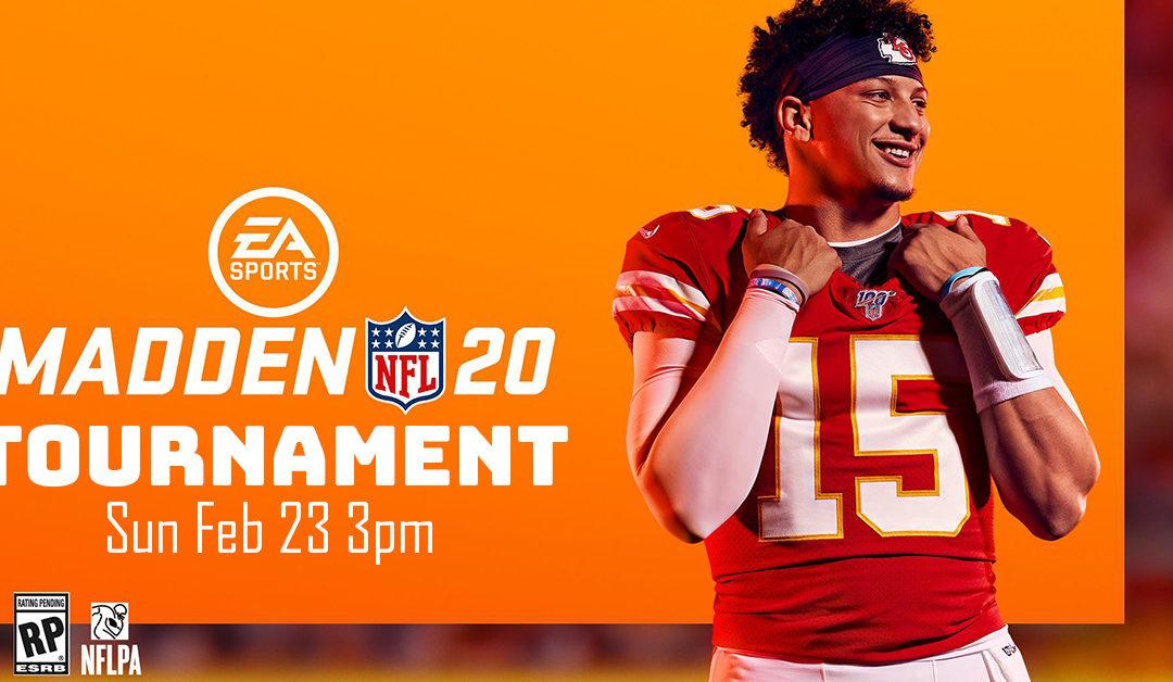Madden 20 Tournament
